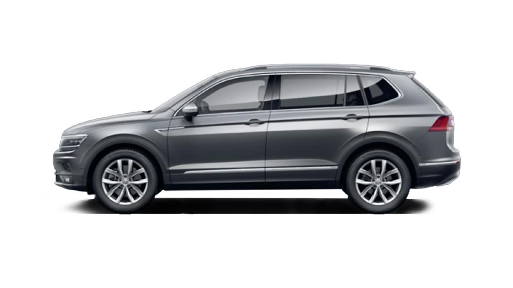 Volkswagen  Tiguan AllSpace Platinum Grey Metallic Colour