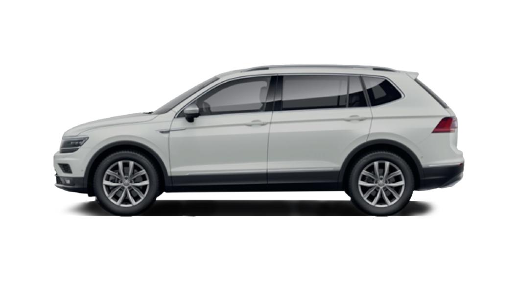 Volkswagen  Tiguan AllSpace Pure White Colour
