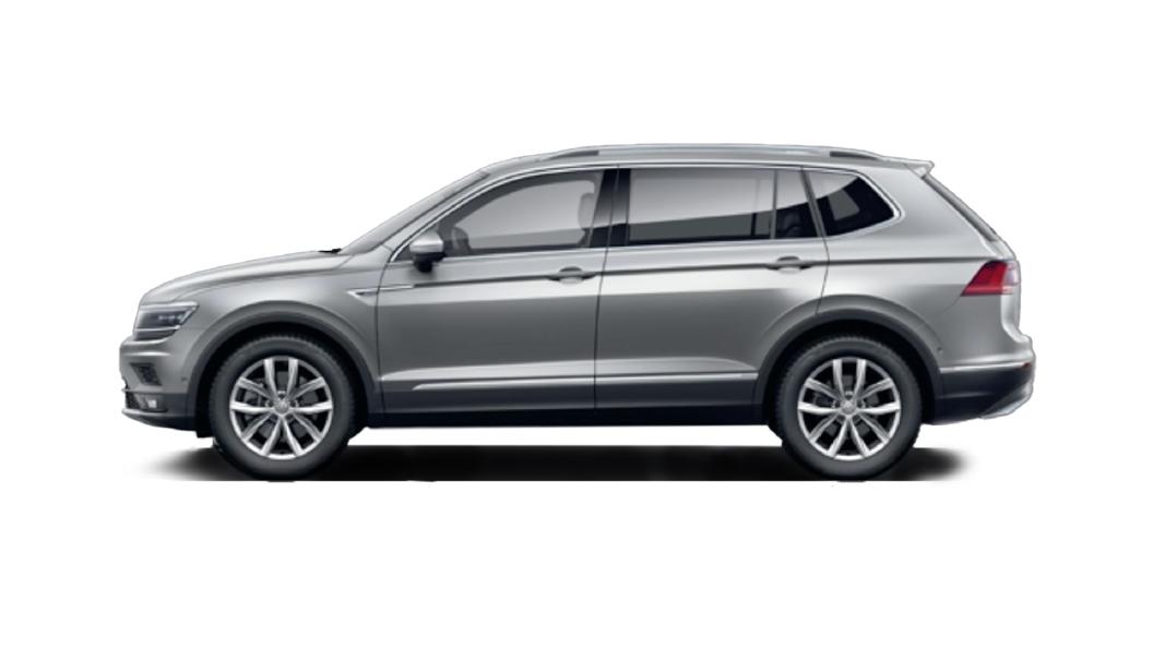 Volkswagen  Tiguan AllSpace Pyrite Silver Colour