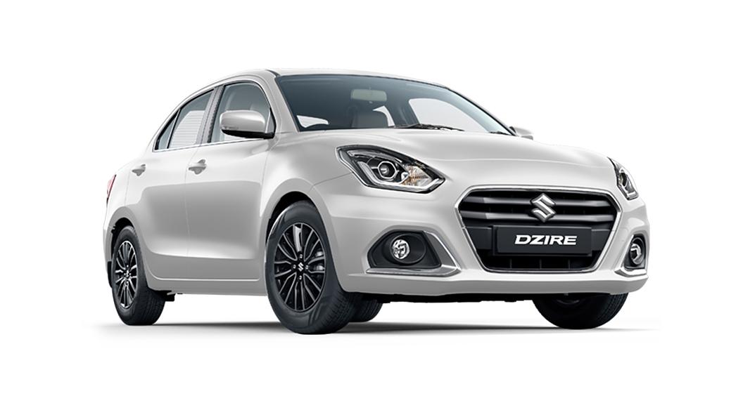 Maruti Suzuki  Dzire Arctic White Colour