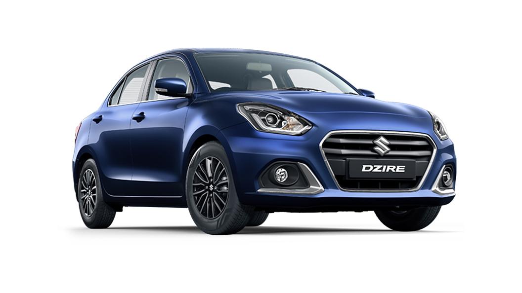Maruti Suzuki  Dzire Oxford Blue Colour