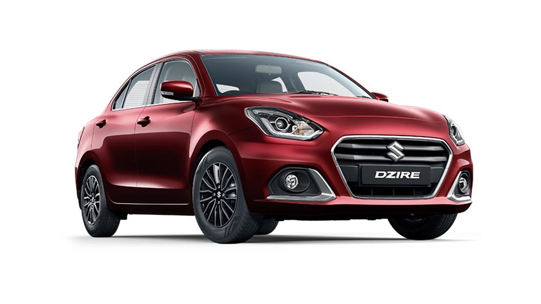 Maruti Suzuki  Dzire Phoenix Red Colour