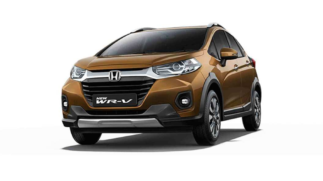 Honda  WR-V Premium Amber Silver Colour