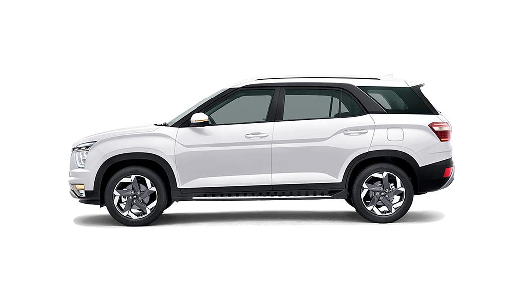 Hyundai  Alcazar Polar White Colour