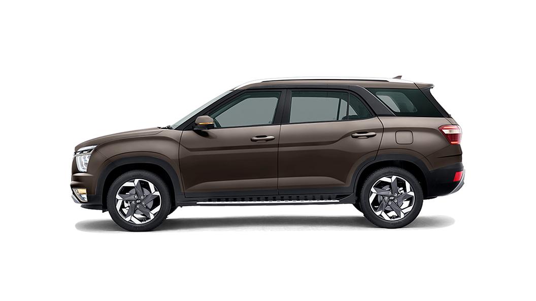 Hyundai  Alcazar Taiga Brown Colour