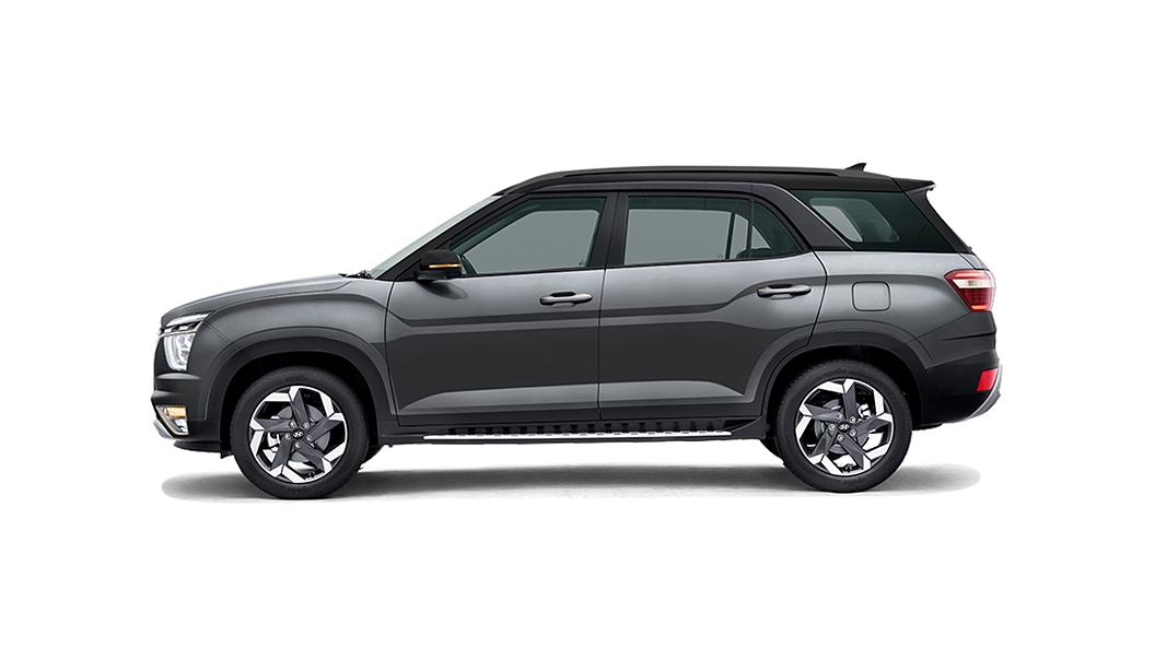 Hyundai  Alcazar Titan Grey With Phantom Black Roof  Colour