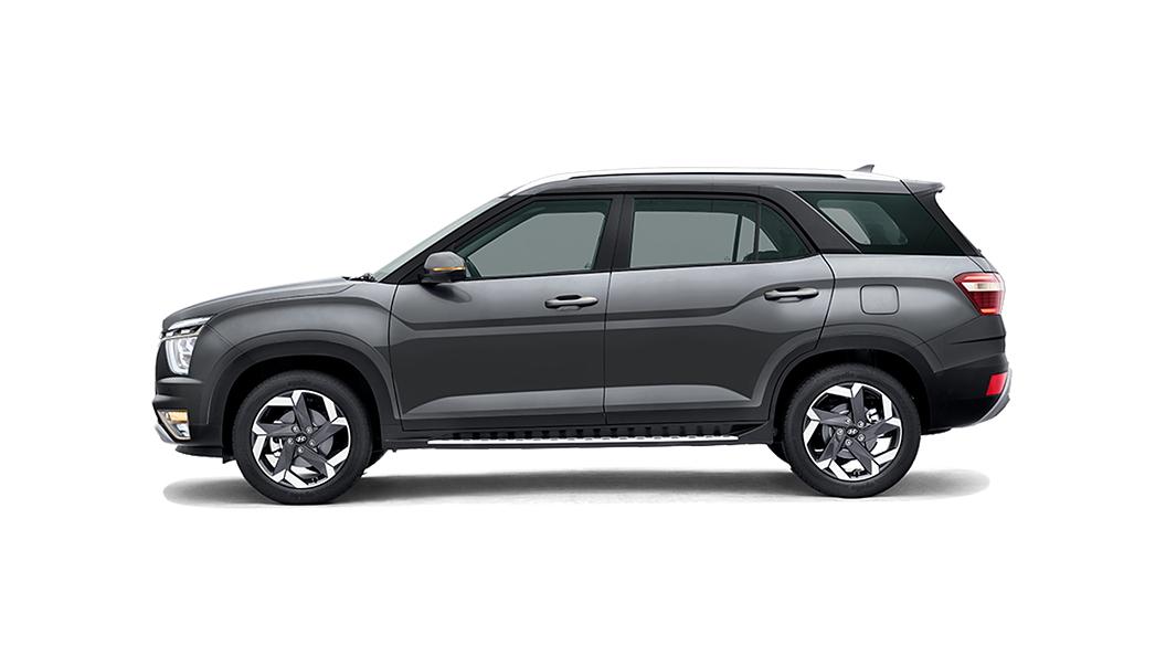 Hyundai  Alcazar Titan Grey Colour