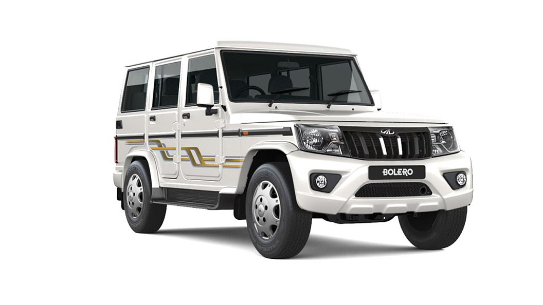 Mahindra  Bolero Diamond White Colour