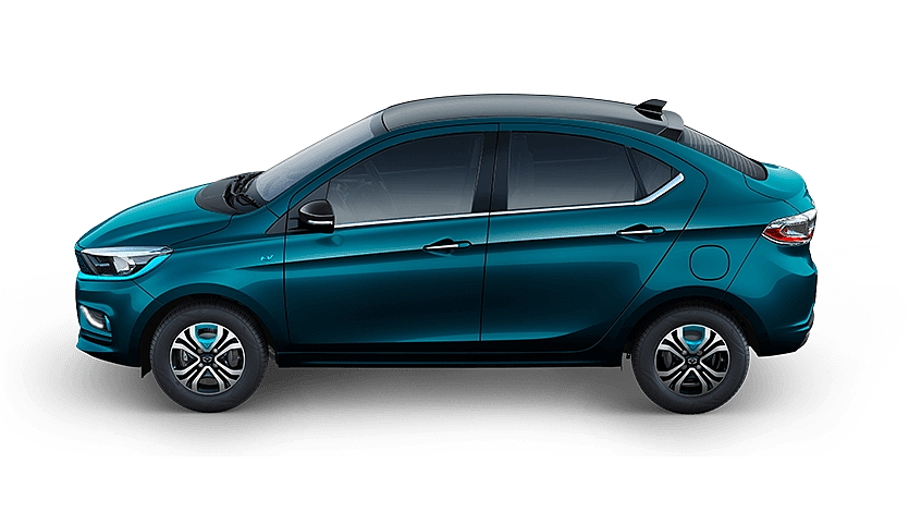 Tata  Tigor EV Black , Signature Teal Blue Colour