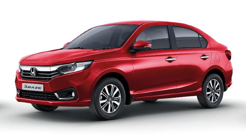 Honda  Amaze Radiant Red Metallic Colour