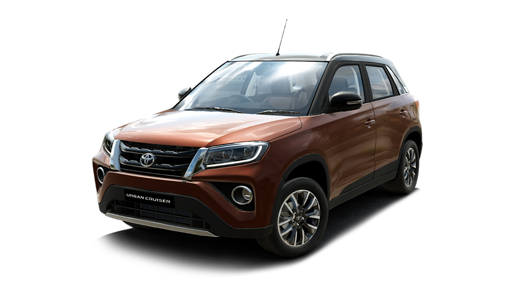 Toyota  Urban Cruiser Rustic Brown with Sizzling Black Roof Colour
