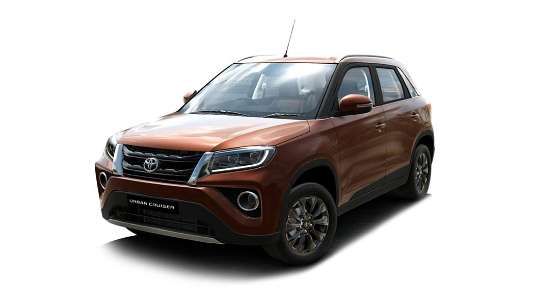 Toyota  Urban Cruiser Rustic Brown Colour