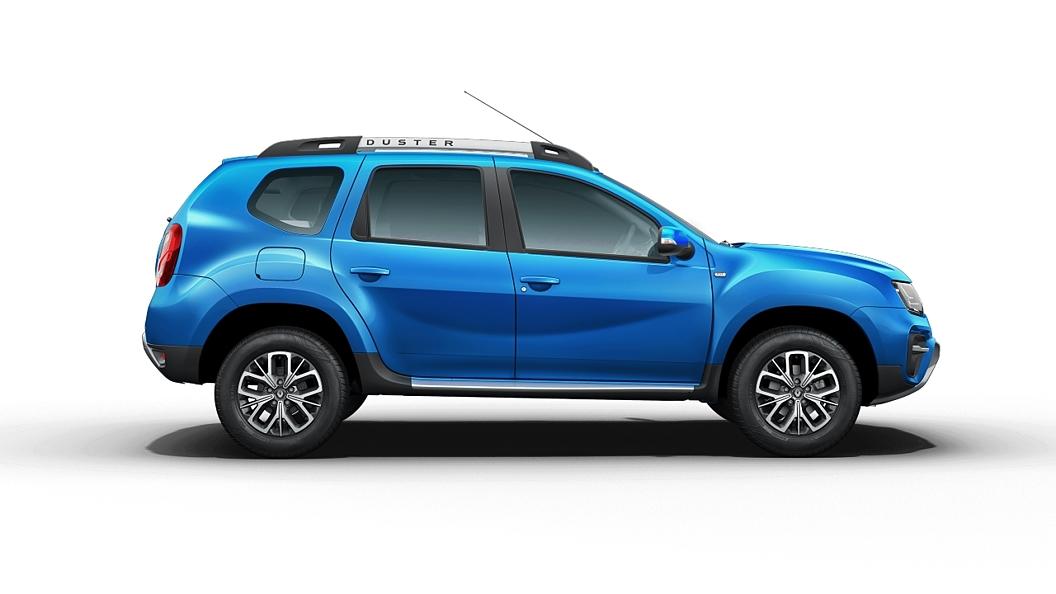 Renault  Duster Caspian Blue Colour