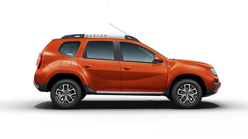 Renault  Duster Cayenne Orange Colour