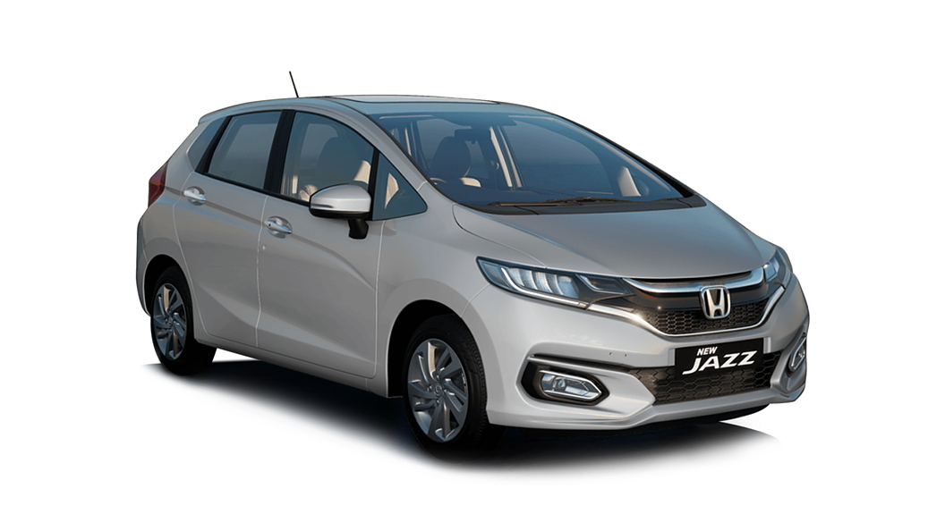 Honda  Jazz Lunar Silver Metallic Colour