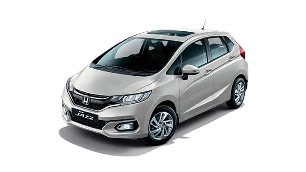 Honda  Jazz Platinum White Metallic Colour