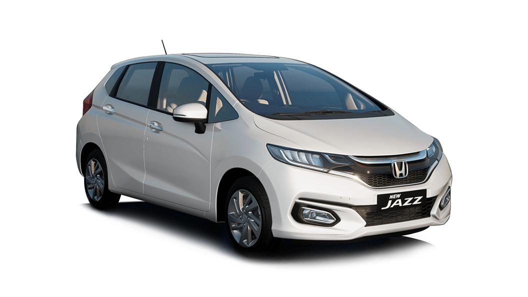 Honda  Jazz Platinum White Pearl Colour