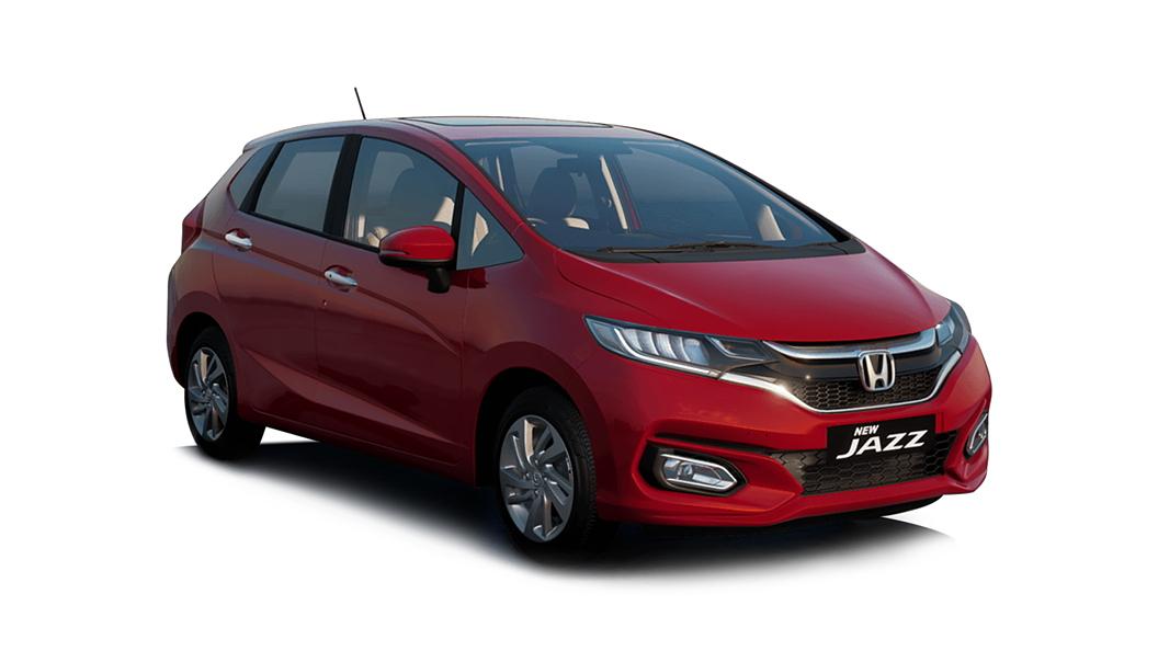 Honda  Jazz Radiant Red Metallic Colour