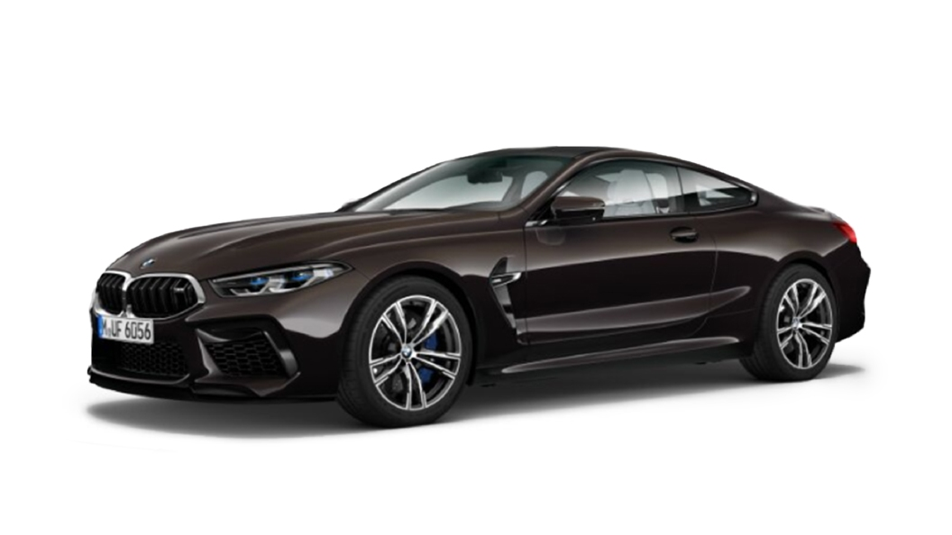 BMW  M8 Almandine Brown Metallic Colour