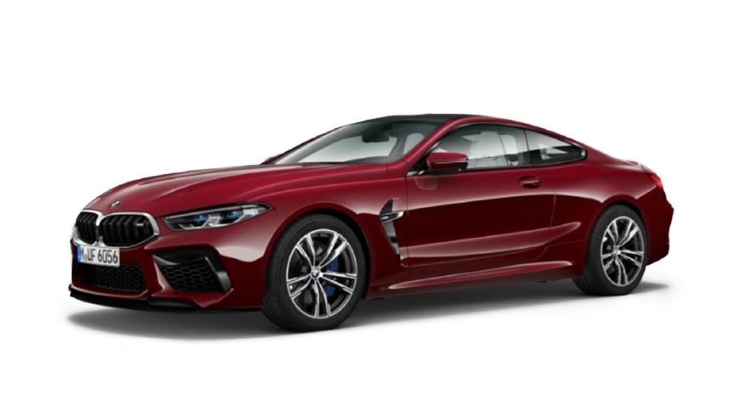 BMW  M8 Aventurine Red Metallic Colour