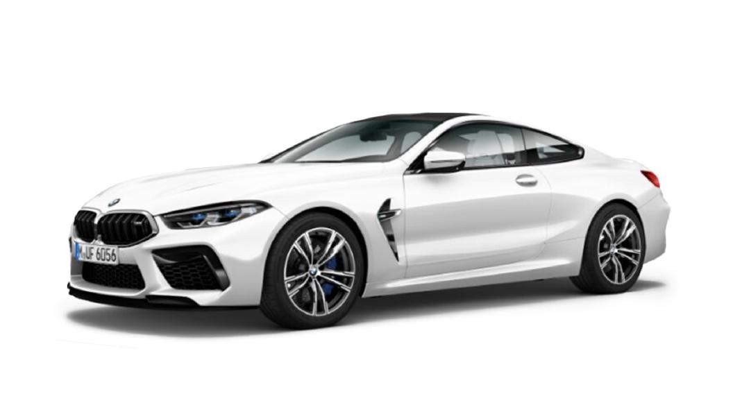 BMW  M8 Brilliant White Metallic Colour