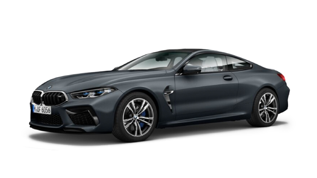 BMW  M8 Frozen Arctic Grey Metallic Colour