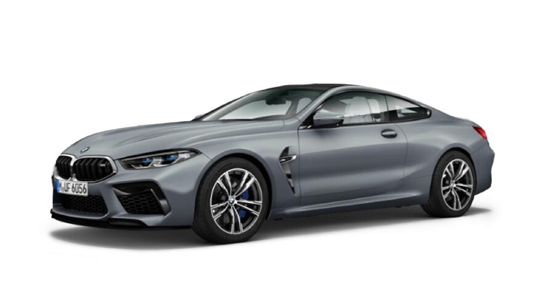 BMW  M8 Frozen Bluestone Metallic Colour