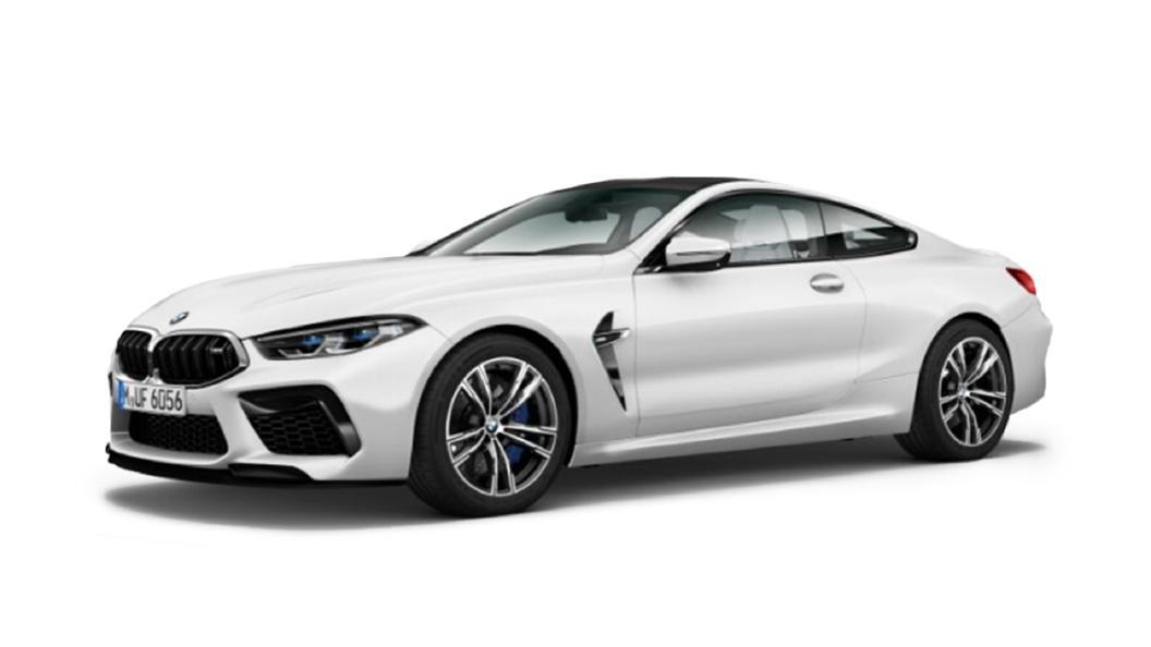 BMW  M8 Frozen Brilliant white Metallic Colour