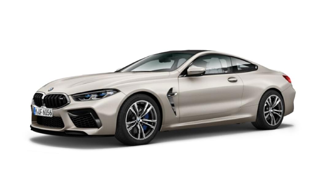 BMW  M8 Frozen Cashmere Silver Metallic Colour