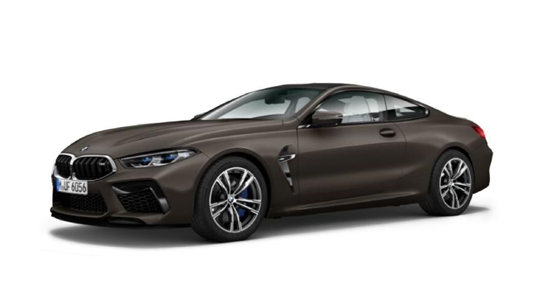 BMW  M8 Frozen Dark Brown Metallic Colour