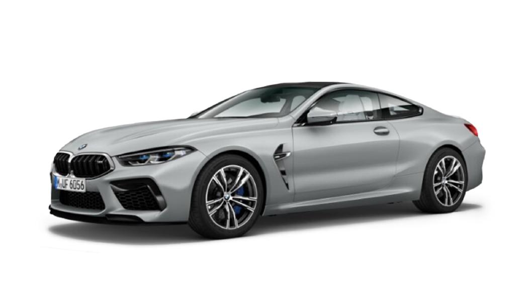 BMW  M8 Frozen Dark Silver Colour