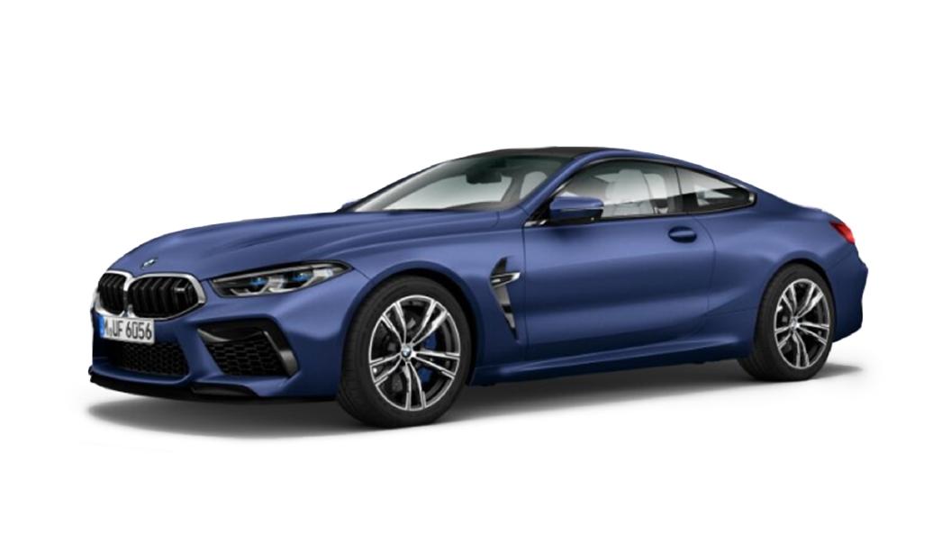 BMW  M8 Frozen Marina Bay Blue Metallic Colour
