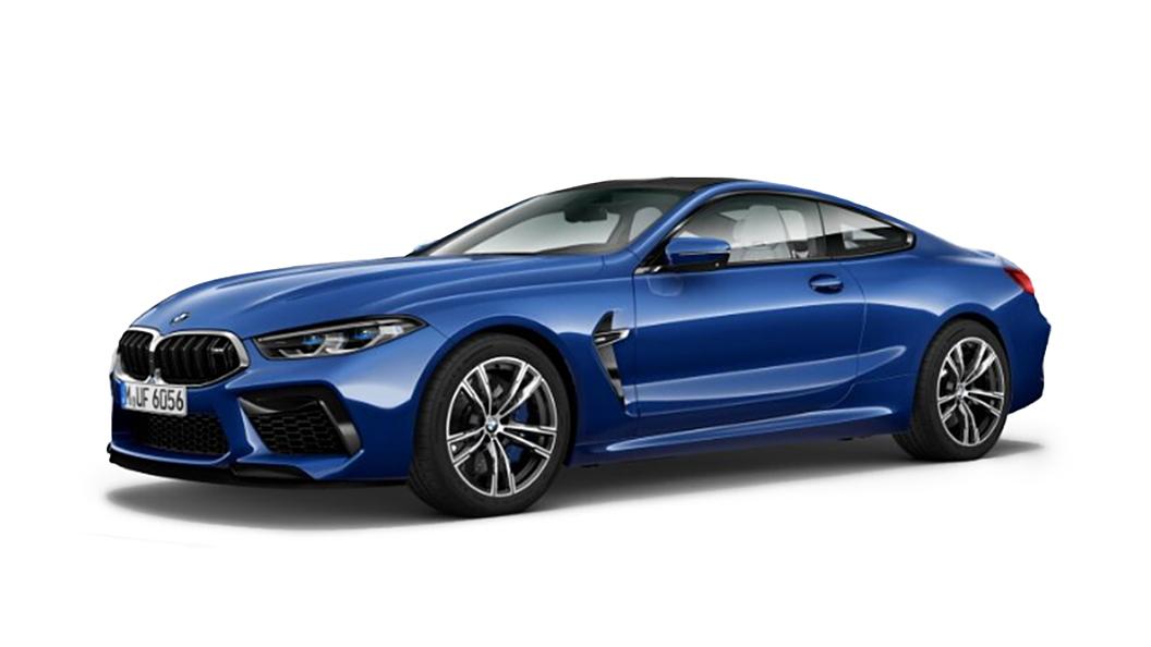 BMW  M8 Marina Bay Blue Metallic Colour