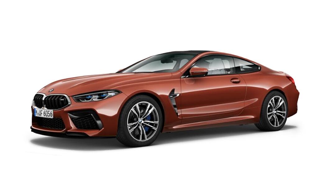 BMW  M8 Motegi Red Metallic Colour