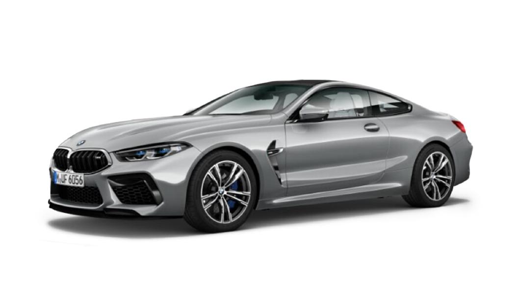 BMW  M8 Pure Metal Silver Colour