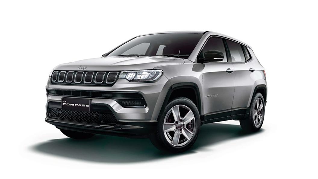 Jeep  Compass Minimal Grey Colour