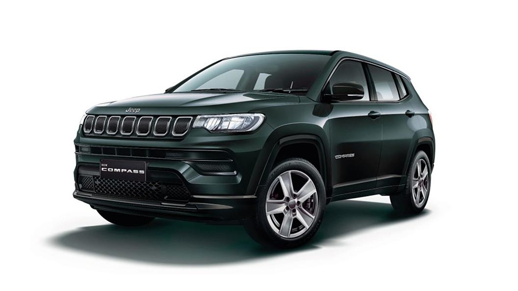 Jeep  Compass Techno Metallic Green Colour