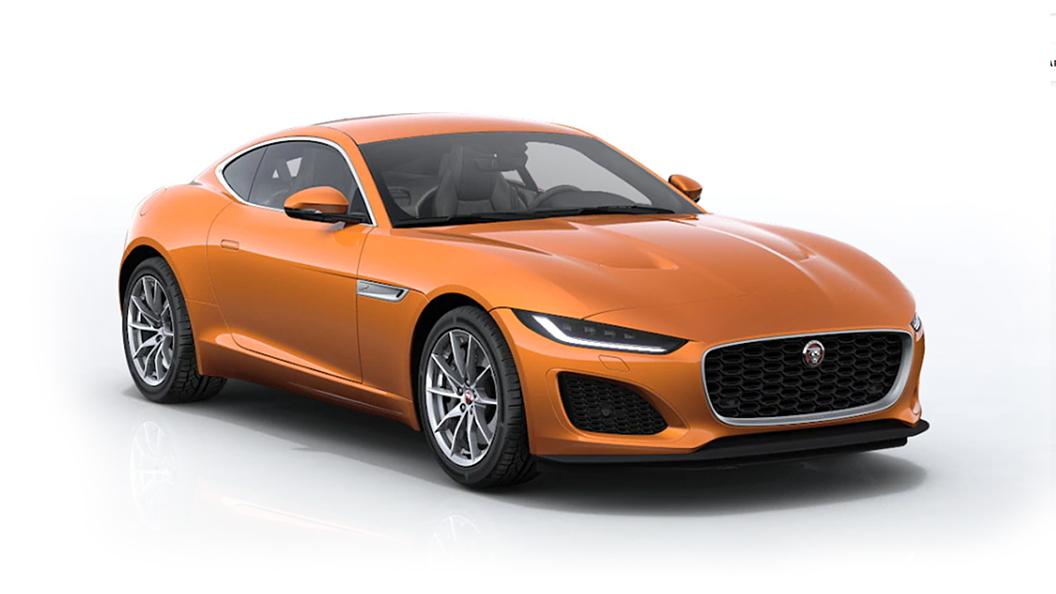Jaguar  F-Type Atacama Orange Metallic Colour
