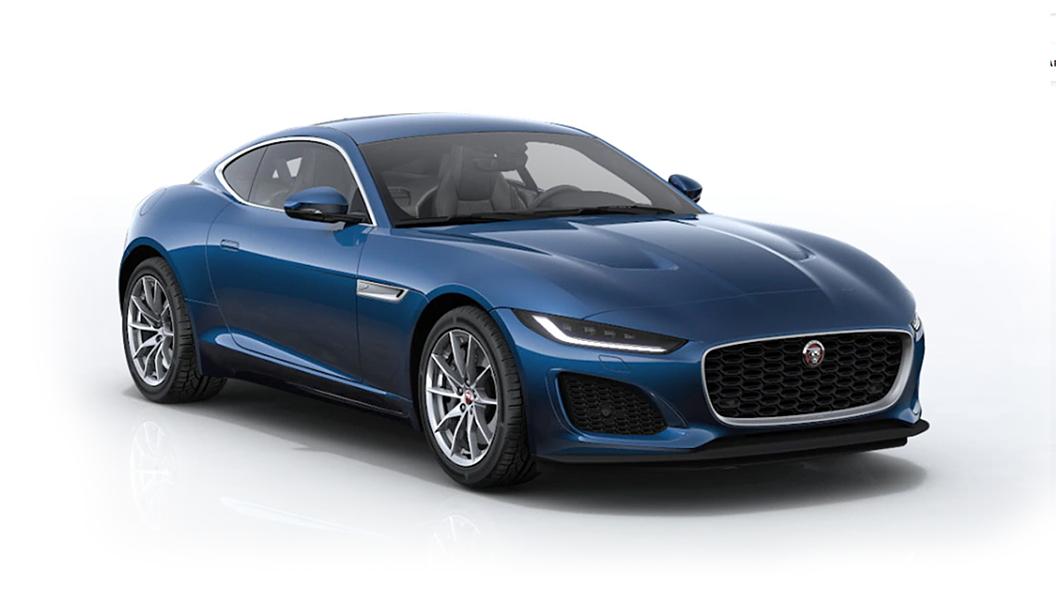 Jaguar  F-Type Bluefire Blue Metallic Colour