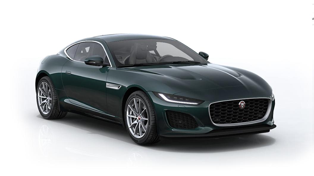 Jaguar  F-Type British Racing Green Metallic Colour