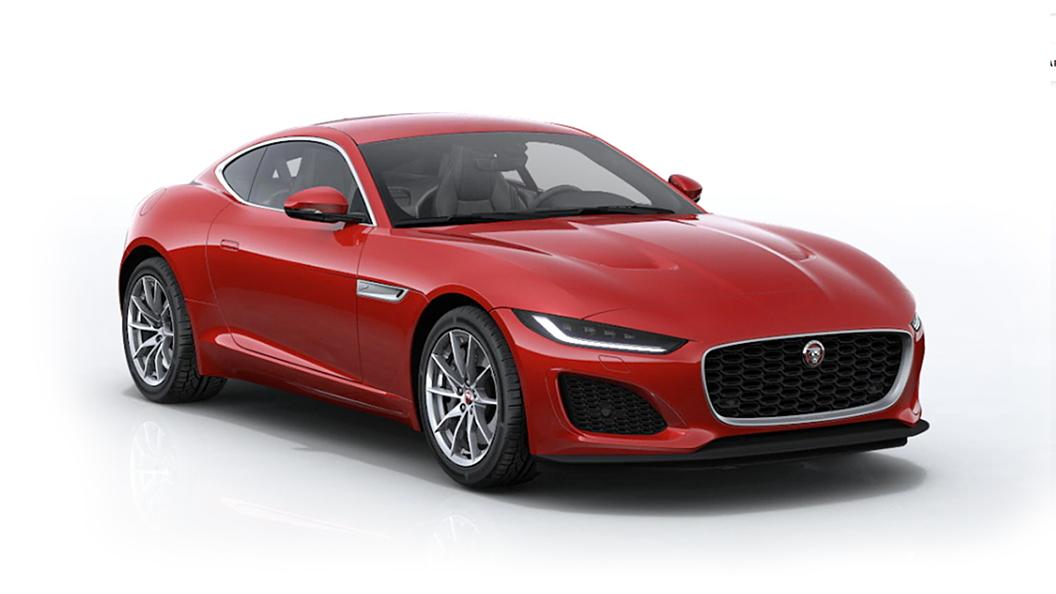 Jaguar  F-Type Caldera Red Colour
