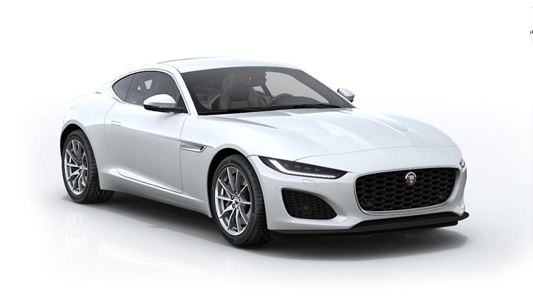 Jaguar  F-Type Fuji White Colour