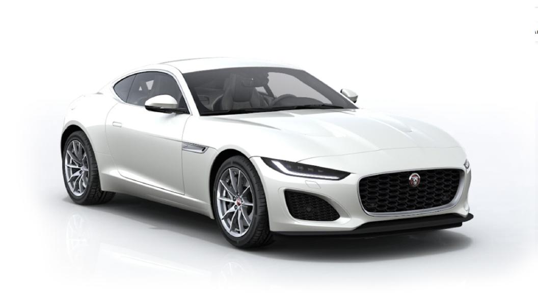 Jaguar  F-Type Icy White Metallic Colour