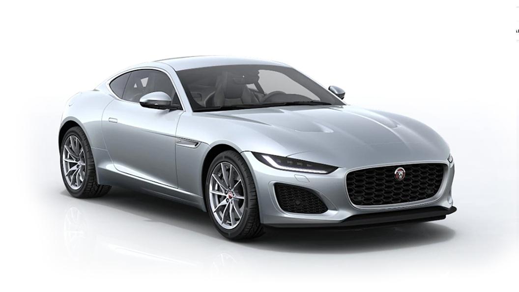 Jaguar  F-Type Indus Silver Metallic Colour