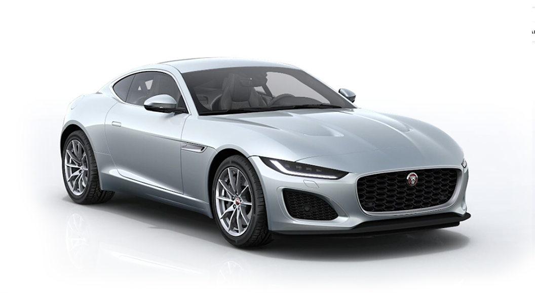 Jaguar  F-Type Ionian Silver Metallic Colour