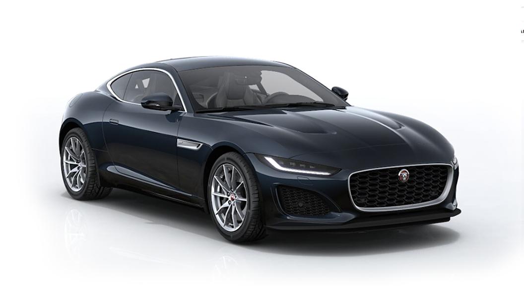 Jaguar  F-Type Ligurian Black Metallic Colour