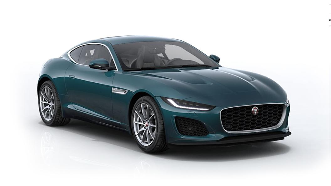 Jaguar  F-Type Petrolix Blue Metallic Colour