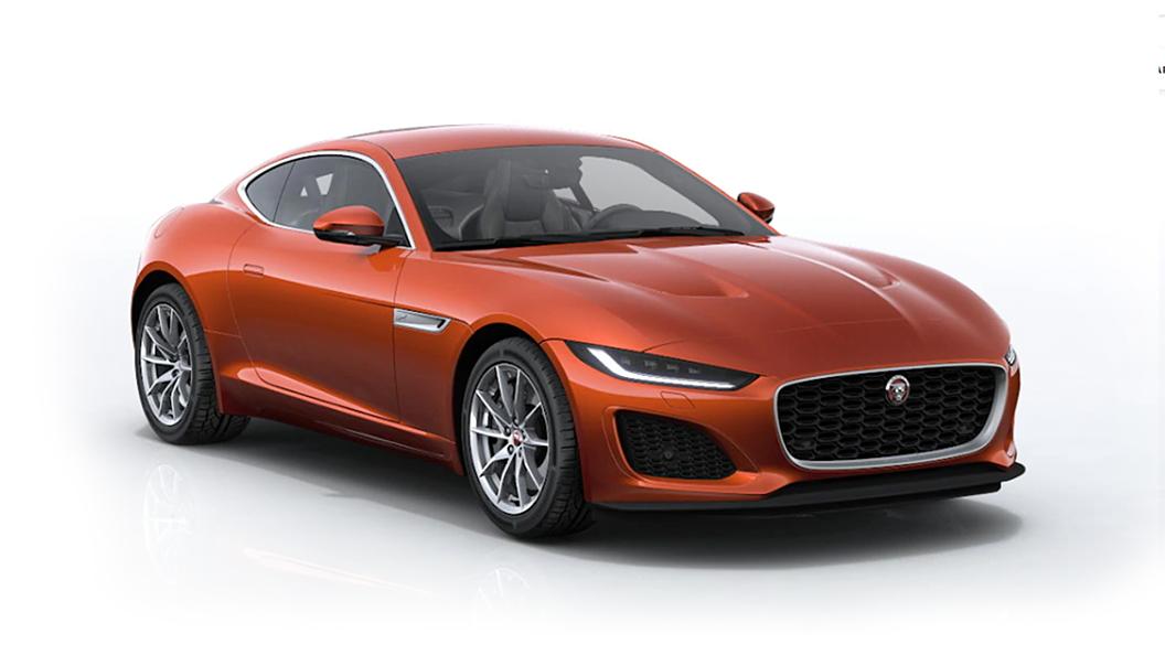 Jaguar  F-Type Sanguinello Orange Metallic Colour