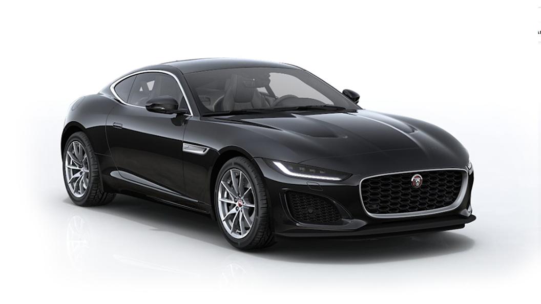 Jaguar  F-Type Santorini Black Metallic Colour