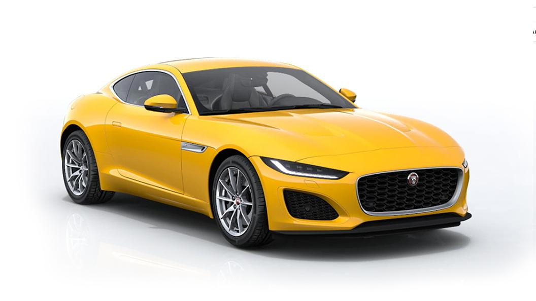 Jaguar  F-Type Sorrento Yellow Metallic Colour